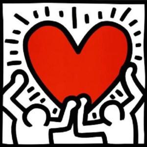 Afbeeldingsresultaat voor keith haring hart